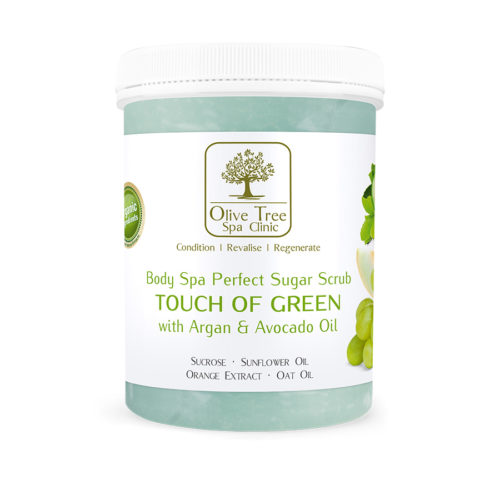 Peeling cukrowy perfect sugar scrub touch of green 1250g for A perfect touch salon